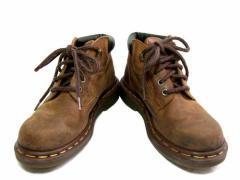 vintage Dr.Martens ヴィンテージ ドクターマーチン KIDS「UK2」生産終了英国製オイルドレザートレッキングブーツ (靴シューズ) 046396