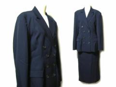 Yohji Yamamoto ヨウジヤマモト ドレープマキシ丈スカートセットアップスーツ (ジャケット 山本耀司 Ys ワイズ) 046457