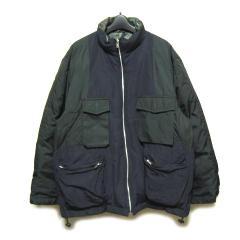 pour deax 黒×迷彩 ミリタリーダウンジャケット・ブルゾン (black×camouflage down jacket) ブルドゥ カモフラージュ 046480