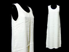 tricot COMME des GARCONS 1997 ノースリーブワンピース (white sleeveless one-piece) トリコ コムデギャルソン 046569