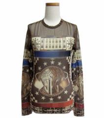 Jean Paul GAULTIER ジャンポールゴルチエ クラシックロゴシースルーカットソー、Tシャツ (ゴルチェ) 047087