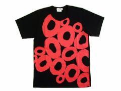 新品同様 COMME des GARCONS コムデギャルソン 2008 バッドテイスト期「S」グラフィティサークルTシャツ (半袖カットソー) 047193