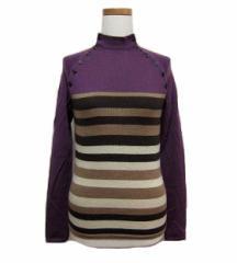 ensuite クラシックマルチボーダーニットセーター (Classic multiborder knitting sweater) エンスウィート 047303