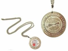 Vintage EXPO70 大高猛「桜」光のプレゼントメダルネックレス「証紙付」(Medal necklace) 大阪万博 エキスポ EXPO70 ヴィン 047574