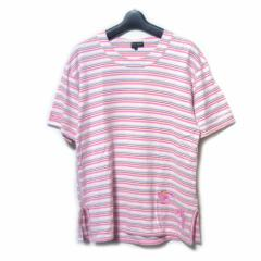 COMME des GARCONS HOMME PLUS コムデギャルソン オムプリュス 2004 ピンクパンサー期「L」ボーダーTシャツ (半袖カットソー) 048120