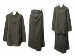 DRIES VAN NOTEN ドリスヴァンノッテン「38」オリエンタル立体巻スカートセットアップスーツ (ジャケット) 048337