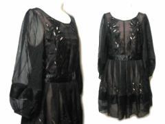 【新品】cocon japan プリンセスシフォンドレスワンピース (princess chiffon dress one-piece) COCOAZABU 048612