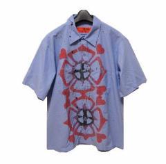 RED KAP「PABLO SPRING1」サイケプリントシャツ (Psychedelic print shirt) レッドキャップ 049289