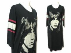HYSTERIC GLAMOUR × The Stooges 限定 フォトマキシワンピース・Tシャツ (photo long one-piece) ザ ストゥージズ ヒステリッ 049480