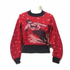JUNYA WATANABE COMME des GARCONS 1994 クラシックショート丈スキーニットセーター (コムデギャルソン ジュンヤワタナベ) 050370
