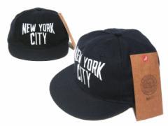【新品】COOPERSTOWN BALL CAP 1930ニューヨークシティー 刺繍 (クーパーズタウン ベースボールキャップ) 051636
