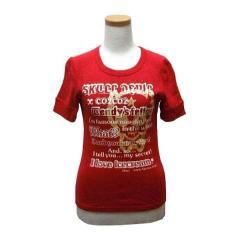 BA-TSU CLUB ROCK プリント半袖Tシャツ (ROCK print short sleeves T-shirt) バツクラブ BA-TSU ゴスロリ 051846