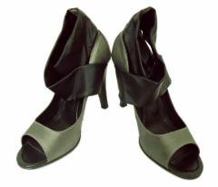 DAIANA「24」ドレスリボンヒールシューズ (Dress ribbon heel shoes) ダイアナ ミュール 053053
