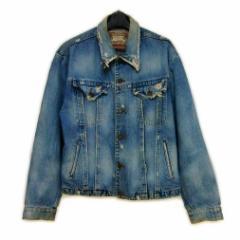 REPLICA ヴィンテージクラッシュデニムジャケット (Vintage crash denim jacket) レプリカ ブルゾン Gジャン 053331