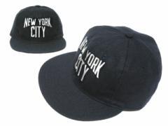 【新品】COOPERSTOWN BALL CAP CO. ニューヨークシティー 刺繍 (クーパーズタウン ベースボールキャップ) 053597