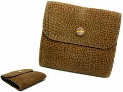 Borbonese「redwall」ITALY バーズアイソフトレザーウォレット (Soft leather wallet) ボルボネーゼ レッドウォール 折財布 054273