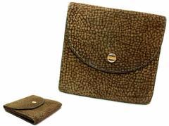 Borbonese「redwall」ITALY バーズアイソフトレザーウォレット (Soft leather wallet) ボルボネーゼ レッドウォール 折財布 054275