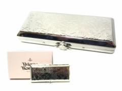 【新品】 Vivienne Westwood ORB monogram cigarette case ヴィヴィアン ウエストウッド オーブ モノグラム メタル シガレット ケース (