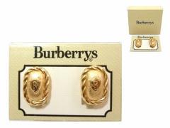 vintage old Burberry Antique gold earrings (ヴィンテージ オールド バーバリー アンティークゴールド イヤリング) ビンテー 054785