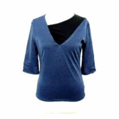 WXYZ アシンメトリーレイヤードカットソー 七分袖Tシャツ (LIMI feu リミフゥ Yohji Yamamoto ヨウジヤマモト Ys ワイズ) 054968