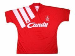 91-92 vintage adidas 英国製 リバプール「ホーム」ゲームシャツ (ヴィンテージ アディダス) 055279
