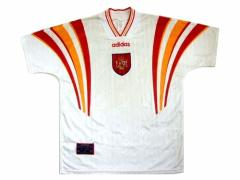 96 vintage adidas スペイン製 スペイン代表「シード」ゲームシャツ (ヴィンテージ アディダス) 055282