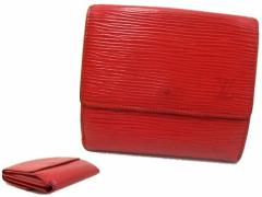 LOUIS VUITTON ルイヴィトン エピレザーウォレット (leather wallet) 折財布 055349