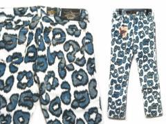 【新品】Anglomania Vivienne Westwood×Lee レオパードスキニ—パンツ (ヴィヴィアンウエストウッド ×リー) 055426