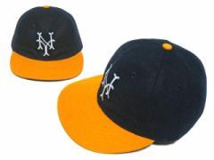 【新品】COOPERSTOWN BALL CAP CO. 1944年 ニューヨーク キューバンズ 刺繍ロゴ (クーパーズタウン ボールキャップ) 055937