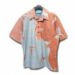 vintage OP Ocean Pacific サーフアロハシャツ (surf aloha shirt) オーシャン パシフィック 半袖 ブラウス 055946