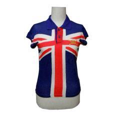 SUPER LOVERS ユニオンジャックポロシャツ (Union Jack polo shirt) スーパーラヴァーズ ラバーズ Tシャツ 056056