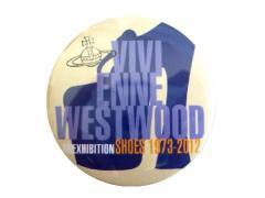 【新品】Vivienne Westwood ヴィヴィアンウエストウッド シューズ回顧展限定 缶バッチ (MAN マン) 056537
