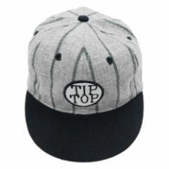【新品】COOPERSTOWN BALL CAP Co. クーパーズタウン ボールキャップ 1915 グレー×紺 ブルックリンティップトップス 057166