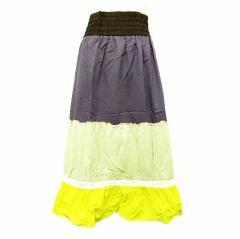 SUIVI リゾートフリルロングスカート (Resort frill long skirt) スイヴィー スイビー オンワード樫山 057253