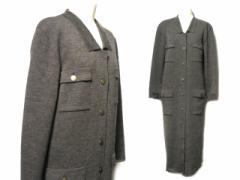 80s vintage MELROSE マキシ丈ニットワンピース・コート (long knit one-piece) メルローズ ヴィンテージ ビンテージ ロング 057322
