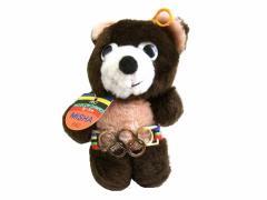 vintage 1980 MOSCOW OLYMPIC モスクワオリンピック MISHA こぐまのミーシャ ぬいぐるみ 人形 (ASAHI製 五輪マスコット) 057770