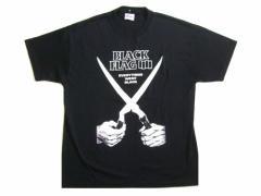 新品同様 90s vintage BLACK FLAG オフィシャル Tシャツ (バンド ヴィンテージ ブラック フラッグ) 058379