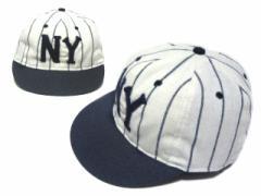 【新品】COOPERSTOWN BALL CAP CO. 1936 ニューヨークブラックヤンキース ウール フェルトロゴ (クーパーズタウン) 058420