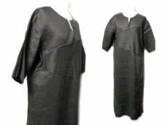 select アシンメトリークラシックリネンワンピース (asymmetry classic linen one-piece) セレクト 麻 058669