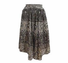 80s vintage レトロエスニックスカート (Nostalgic ethnic skirt) ヴィンテージ ビンテージ 059297