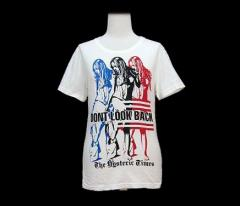 Hysteric Glamour「F」DONT LOOK BACK Tシャツ (DONT LOOK BACK T shirt) ヒステリックグラマー 059679