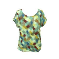ヨーガンレール「M」サイケデザインカットソー (Psychedelic design cut-and-sew) JURGEN LEHL Tシャツ 059857