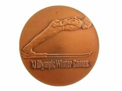 vintage 1972 SAPPORO OLYMPIC 札幌オリンピック 記念 銅 メダル (五輪 ヴィンテージ ビンテージ) 059915