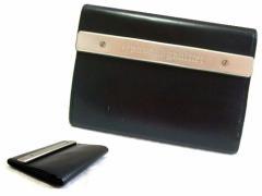 廃盤 Jean Paul GAULTIER ジャンポールゴルチエ メタルプレートレザー 折財布 (ゴルチェ ウォレット) 060265