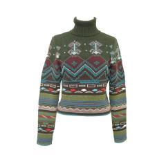 BAZaR de CHRISTIAN LACROIX「M」アンティークビーズニット、セーター (Antique beads knit, sweater) クリスチャンラクロワ 060762