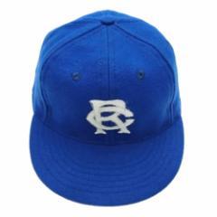 【新品】COOPERSTOWN BALL CAP Co. クーパーズタウン ボールキャップ 1927 青 ブルックリンロイヤルジャイアンツ (帽子) 061223