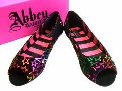 【新品】Abbey Down「UK6」ロカビリースターパンプス (アビードーン Avril Lavigne アヴリル・ラヴィーン) 061463