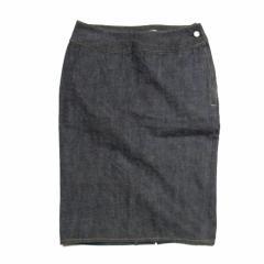 beauty:beast「M」Plane denim skirt ビューティー ビースト プレーンデニムスカート 061659