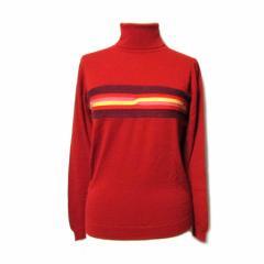 COMME des GARCONS×JOHN SMEDLEY コムデギャルソン×ジョンスメドレー イギリス製 ケーブルラインニットセーター (タートル) 061937
