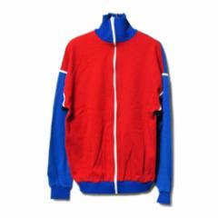 vintage sieger84 Retro full zip jersey jacket ヴィンテージ レトロ フルジップ ジャージ ジャケット (ビンテージ)■